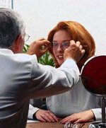 `Sehberatung´ beim Augenoptiker